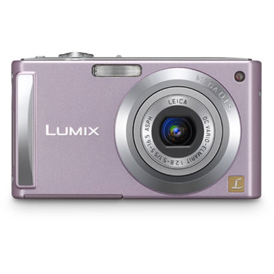 Lumix DMC-FS3 Pink Compact Camera