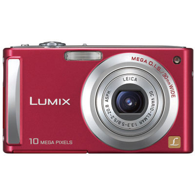 Lumix DMC-FS5 Red Compact Camera