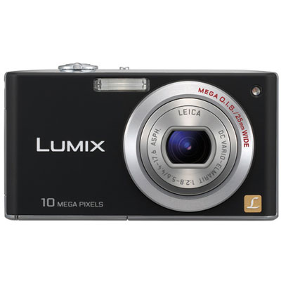 Lumix DMC-FX35 Black Compact Camera