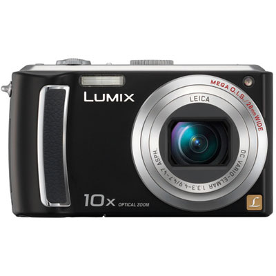 Lumix DMC-TZ5 Black Compact Camera