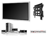 PWD6BX 42in WVGA Silver Plasma Bundle With Toshiba SD44 DVD Home Cinema System