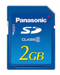 Panasonic RPSDM02GE1A 2GB SD MEMORY CARD-Offer