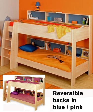 Parisot Bunk Bed With Shelves Review Compare Prices