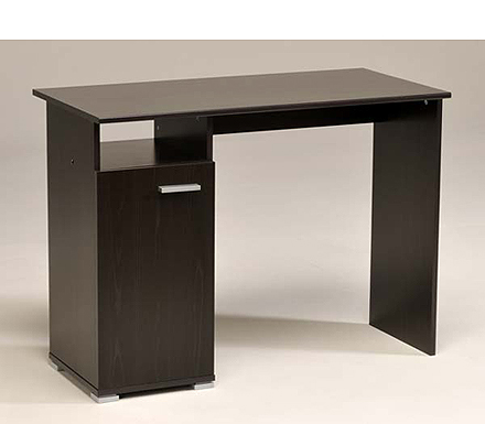 computer desk in wenge. Black Bedroom Furniture Sets. Home Design Ideas