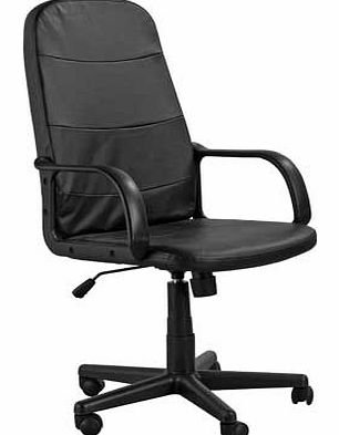 Parker Gas Lift Managers Office Chair - Black