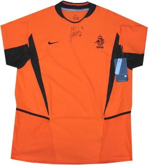 Kluivert signed Holland shirt