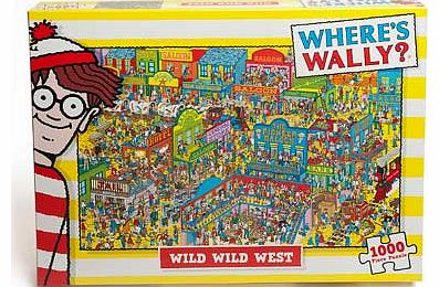 Wheres Wally Wild West 1000 Piece Puzzle