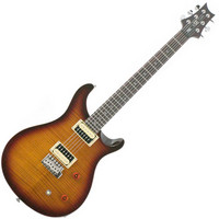 PRS SE Custom Trem Guitar Tobacco Sunburst