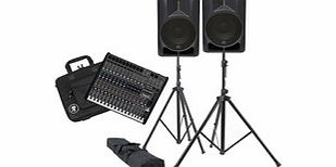 Impulse 12D and Mackie ProFX16 PA System