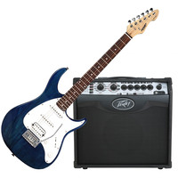 Raptor Plus EXP Guitar Trans Blue and
