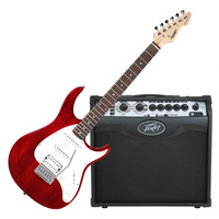 Raptor Plus EXP Guitar Trans Red and