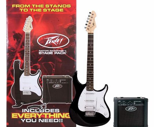 Peavey Raptor Plus Stagepack sunburst