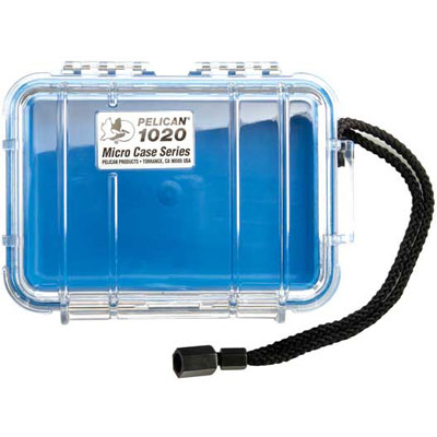 Peli 1020 Microcase Clear with Red Liner