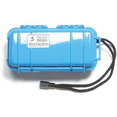 Peli 1030 Microcase Blue with Black Liner