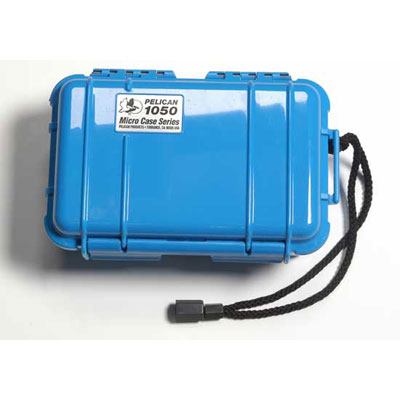 Peli 1050 Microcase Blue with Black Liner