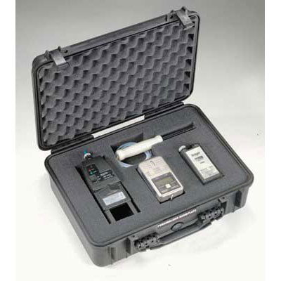 Peli 1500 Case with Dividers Black