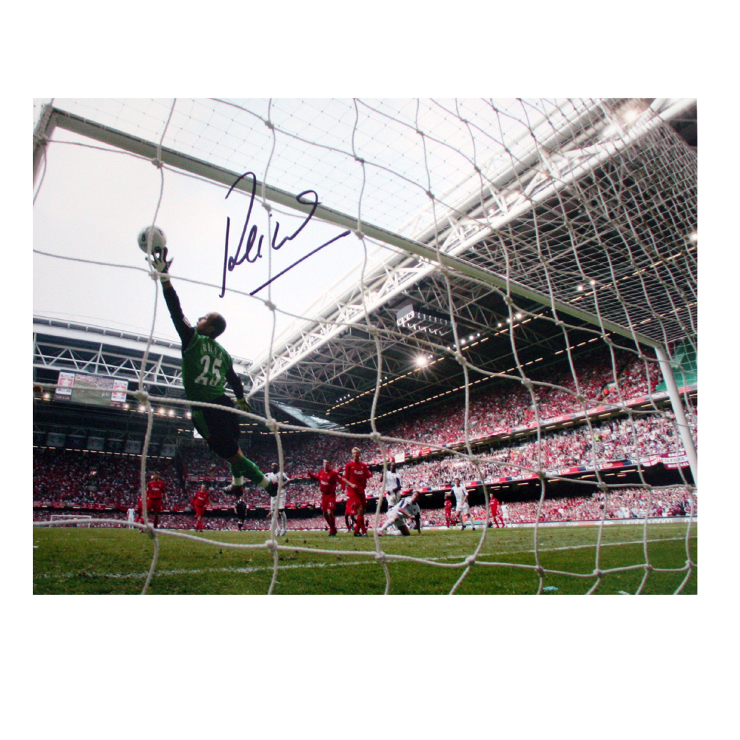 Reina Signed Photo - Great Save in the 2006 FA Cup Final