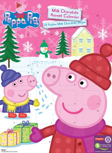 PEPPA PIG Official PEPPA PIG Christmas advent Calendar 2014 *New