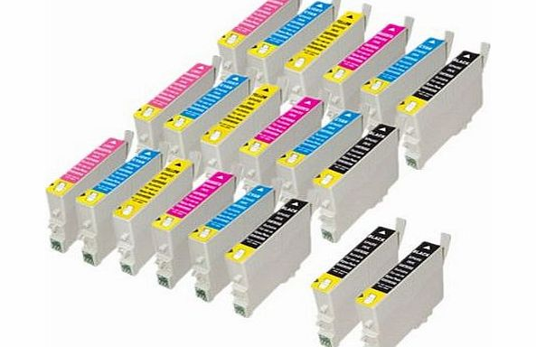 20 Compatible T0481 T0482 T0483 T0484 T0485 T0486 (T0487) Ink Cartridges For Epson Stylus Photo Printers
