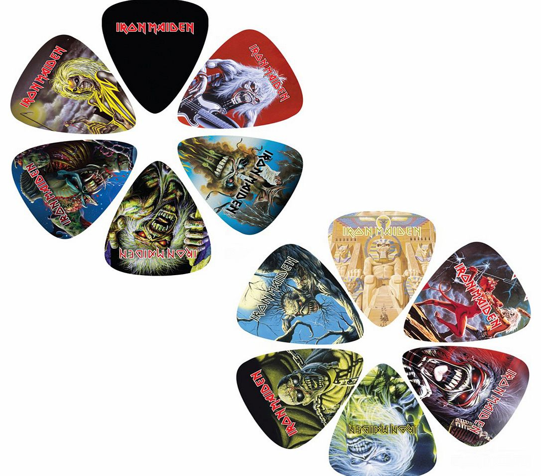 Iron Maiden Set Of 12 Plectrums