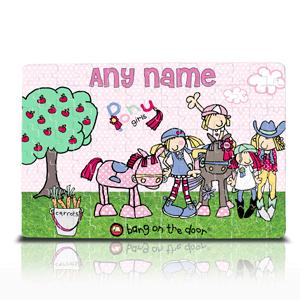 Bang on the Door Pony Girl Jigsaw