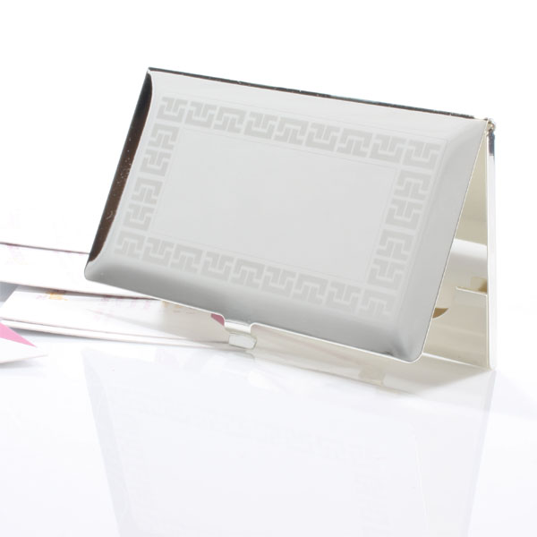 Bevelled Business Card Holder