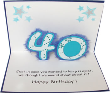 Birthday Card - The Big and#39;Oand39;
