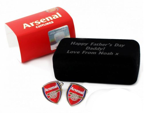 Football Cufflinks Arsenal