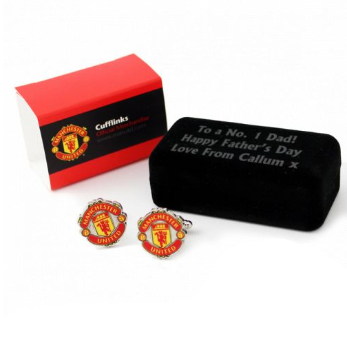 Football Cufflinks Manchester United