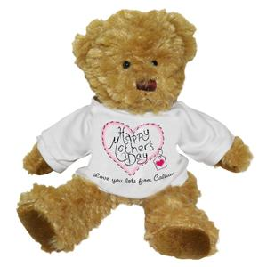 Heart Stitch Mothers Day Teddy