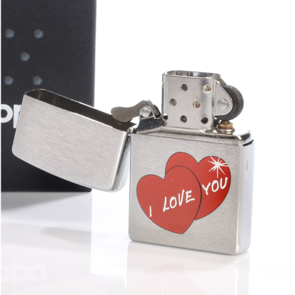 I Love You Zippo Lighter