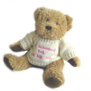 Pink Tatty Teddy Message Bear