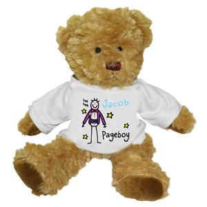 Purple Ronnie Pageboy Teddy