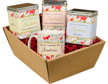 Tea Gift Set - Floral Design