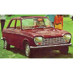 peugeot 204 1965 Red