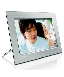 10FF3CME/05 Aluminium 10in Digital Photo Frame