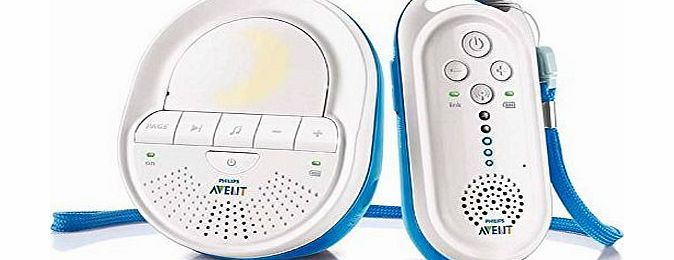 AVENT DECT Baby Monitor SCD505/01 with Light and Lullabies