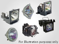 LAMP MODULE FOR PHILIPS BSURE SV2 BRILLIANCE PROJECTOR