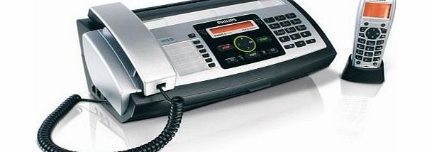 PPF685 Magic 5 Eco Voice Dect Fax/Phone, Features Include; SMS, Cordless Handset, Photo Resolution, 10 Short Dial Keys, 30 Minute Recording Time Answer Machine