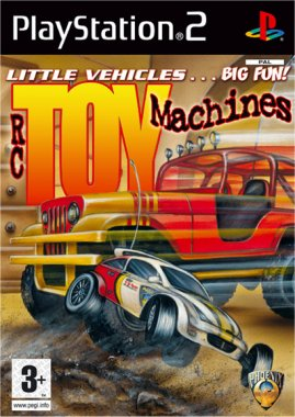 RC Toy Machines PS2