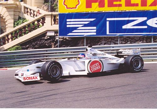 Villeneuve Car Monaco 2000 Photo (15cm x 21cm)