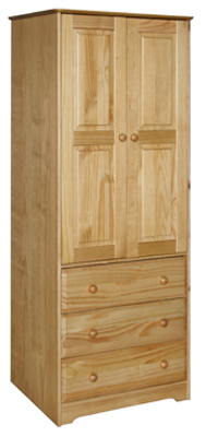 WARDROBE 2 DOOR 3 DRAWER BALMORAL VALUE