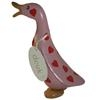 Hearts Duckling: Approx 18cm high - Pink Hearts Duck