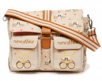 Maman & Bebe Messenger Bag - Love