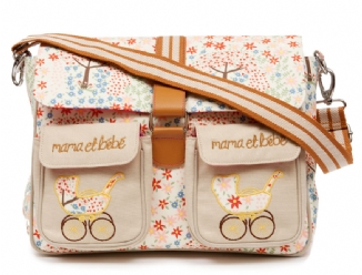 Maman & Bebe Messenger Bag - Peace