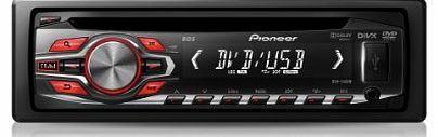 Pioneer DVH-340UB DVD/CD Player with Front USB