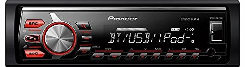 Pioneer MVH-X370BT Car Stereo for MIXTRAX EZ/iPod/iPhone and Android Media Access