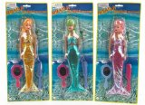 Mermaid Princess Doll 28cm and Accessories (043123) 3 per pack