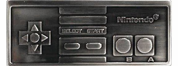 Buckle Nintendo NES controller, gamepad, belt buckle