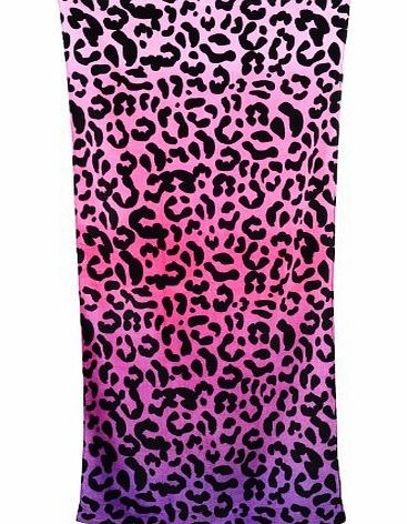 Pixnor Sexy Leopard Beach Towel for Lady